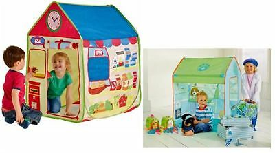 Chad Valley Play Tent - Vet Surgery or Post Office/Grocery Shop - NIP