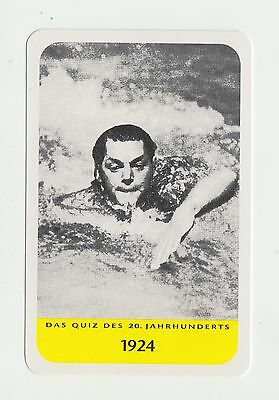 Swimming : Johnny Weissmuller : German collectable game card