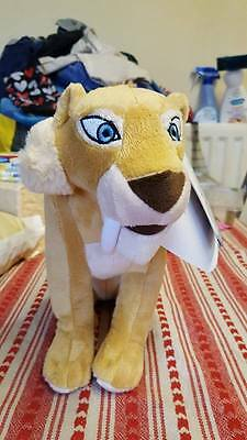 Ice Age  Diago Plush Soft Toy Teddy with tags