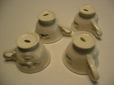 Collector Set Of 4 Bailey Cups Signed By Helen Hunt For LA Youth Network