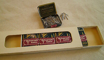 500 Laubscher Curved Gramophone Tins- 5 boxes. BRAND NEW-Original Packaging!