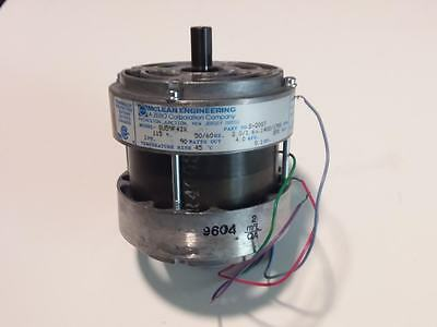 MCLEAN ENGINEERING DUAL SHAFT FAN MOTOR SU59F4IX, S-2007, 115v, 90 watts out
