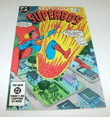 The New Adventures of Superboy #53 Original Owner Collection $5 High Grade Comic