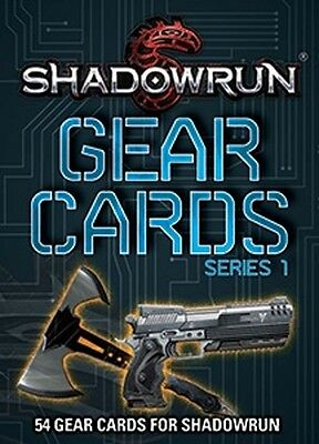 Shadowrun Role Playing Game - Gear Cards Series 1