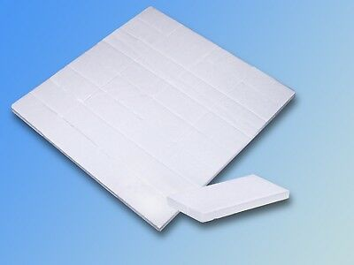 32 double sided adhesive pads, Foam Adhesive plate 25x13x1mm, Duct tape