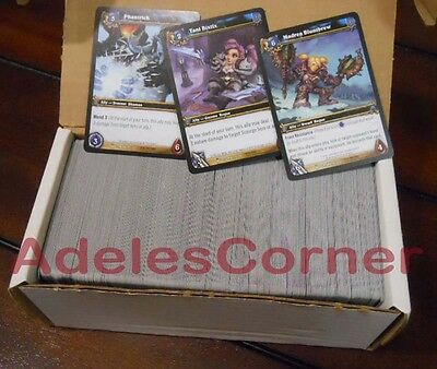 BRAND NEW: Huge Lot World of Warcraft ICECROWN Card Collection
