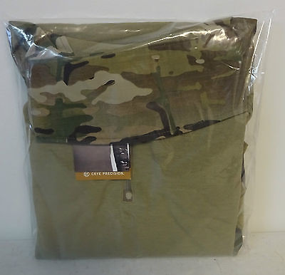 CRYE Precision G3 Combat Shirt Multicam Medium Regular New W/ Tags In Packaging
