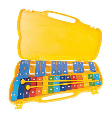 Performance Percussion PP25CK G2-G4 25 note Glockenspiel, Coloured Keys (NEW)