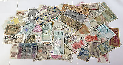 COLLECTION BANKNOTES LARGE WORLD LOT 181 pc #xbb 087