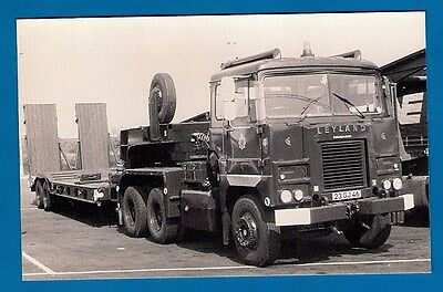 Postcard - British Army: Leyland Cruiser 23GJ46 - MB Transport Photos