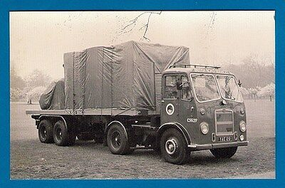 Postcard - British Road Services: Preserved Bristol HA6LL - MB Transport Photos