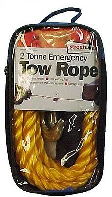 Streetwize 2t Tow Rope