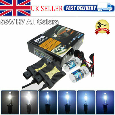 Canbus 55W H7 HID Xenon Conversion Kit 6000K 8000K Lamps Car Headlights Ballasts