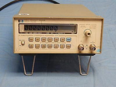 Hp Agilent 5385A 10Hz To 1000-GHz Frequency Counter TESTED