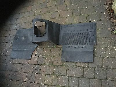 land rover defender floor mat gear box tunnel cover