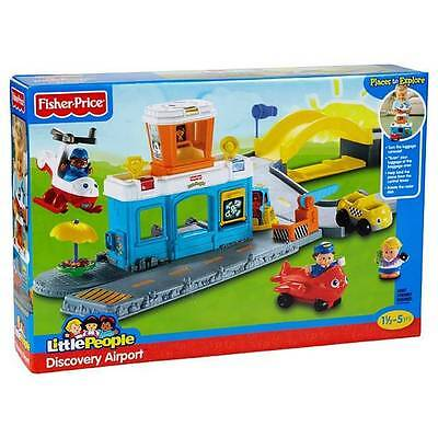 New Pretend Toy Playset  Fisher Price Little People - Discovery Airport