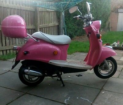 50cc Retro scooter DB50QT-7