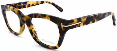 Tom Ford TF5178 FT5178 055 Vintage Havana Plastic Square Eyeglasses Frame