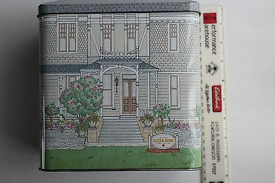 "Sutter Home Winery Napa Valley Large 8 1/2"" Tall Tin Victorian Replica England"