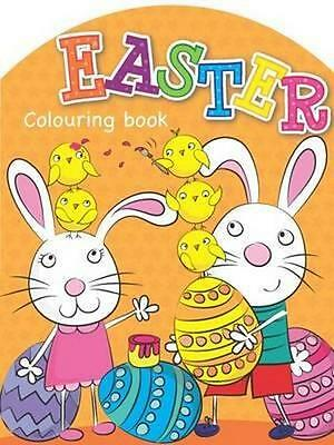 NEW Easter Colouring Book By Michelle Breen Paperback Free Shipping