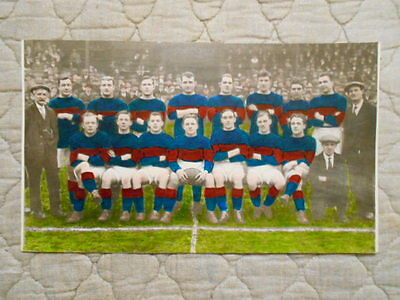 Wakefield Trinity Colour Team Photo Taken At Belle Vue 1921