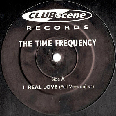 The Time Frequency – Real Love * Oldskool - Vinyl - Hardcore - Jungle - Rave *