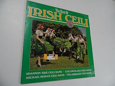"The best of Irish Ceili . 12"" 33rpm LP Record . 1976 . Folk music ."