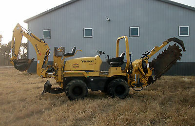 VEERMER   RT850   Terrafire  Trencher     (model year 2000 )