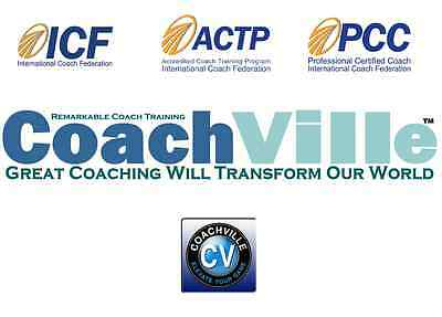CoachVille Lifetime Complete Certification Program 100% online ICF Certified