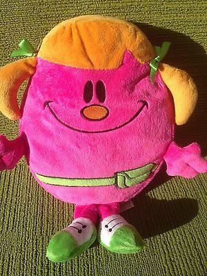 "Little Miss Helpful 12"" Plush Soft Toy - Think Wow - 2009 Lovely Cond (Mr Men)"