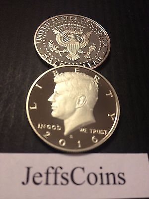 2016 & 2017 S Kennedy Half Dollars Clad Proof Early Strikes President Cameo Best