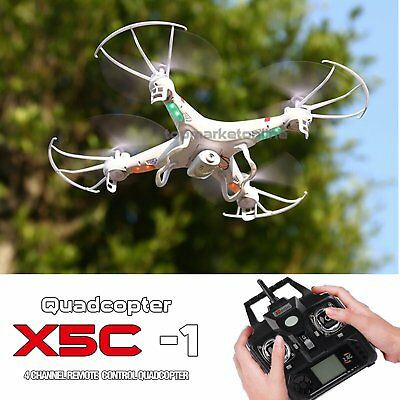 Camera Drone 6-Axis Gyro RC UAV RTF Quadcopter 8GB X5C-1 Drone UFO with 2.4Ghz