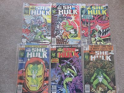Large Lot of Savage She-Hulk Comics