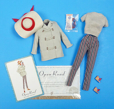 """BARBIE OPEN ROAD ~ Vintage Repro Reproduction Midge 11.5"""" Doll Outfit Complete"""