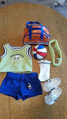 American Girl Julie Hoops Outfit And Accessories