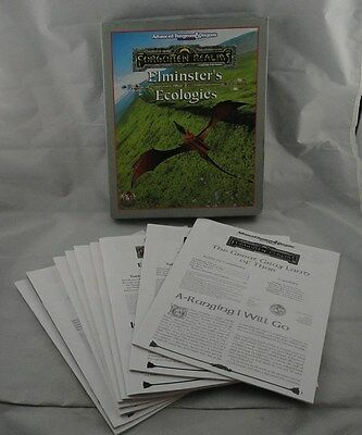 Advanced Dungeons & Dragons AD&D Forgotten Realms Elminster's Ecologies TSR1111