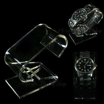 Acrylic Watch Holder Display Stand 10 pcs
