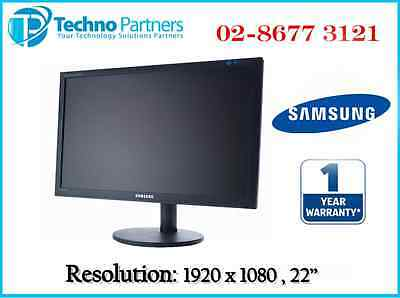 "Samsung SyncMaster BX2240 22"" 22in Full HD Monitor 1920x1080 WideScreen B Grade"