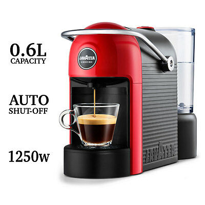 Lavazza Jolie Coffee Machine Expresso LVZ18000072 with One Touch Operation, Red