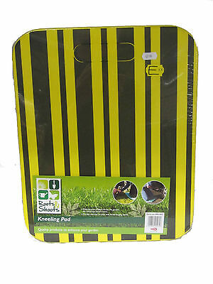 Roots And Shoots Yellow And Black Kneeling Pad