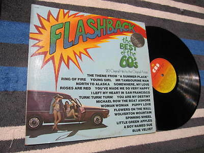 """Flashback The Best Of The 60's Various Vinyl Lp Record 12"""""""