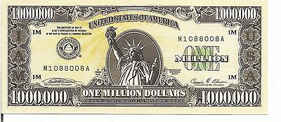 Us, $ 1 Million - (I.a.m),non - Negotiable, Not Real Money, Unc