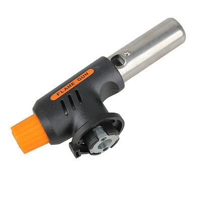 Gas Torch Butane Burner Auto Ignition Camping Welding Flamethrower BBQ Picnic