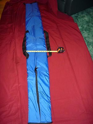 FULLY PADDED - Ski Carry Bag 78 inches - BLUE