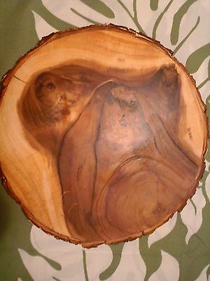 Acacia Wood with Natural Images of Ghosts