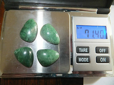 JADEITE NATURAL MINED STONES x 4  TOTAL 71Ct  MF7216