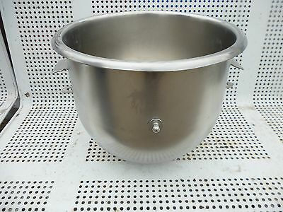Hobart 20QT Stainless Steel Mixer bowl