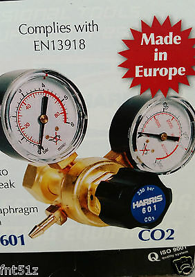 Harris Model 601 Co2 Regulator Brand New Suit Homebrew Keg Aquarium