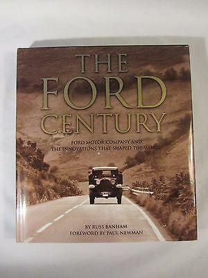 """""""The Ford Century""""  by Russ Banham  Story of the Ford Motor Company   (117)"""