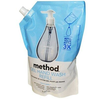 Method, Gel Hand Wash Refill, Sweet Water, 34 fl oz (1 L)